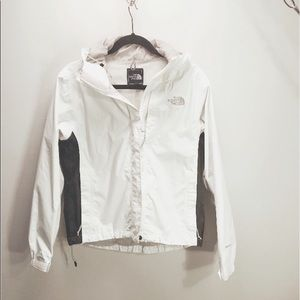 THE NORTH FACE White Rain Jacket Size S